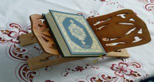 Koran im Schlafzimmer